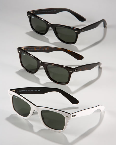 Original Wayfarer Sunglasses, White