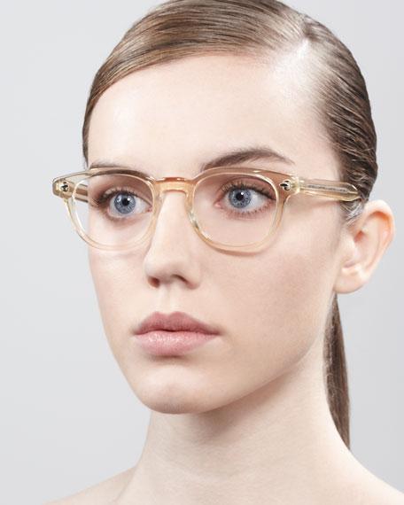Sheldrake Fashion Glasses, Buff