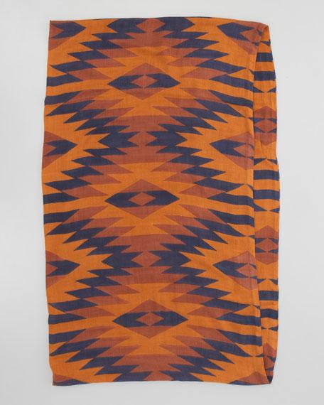 Jackson Hole Infinity Scarf, Burnt Orange