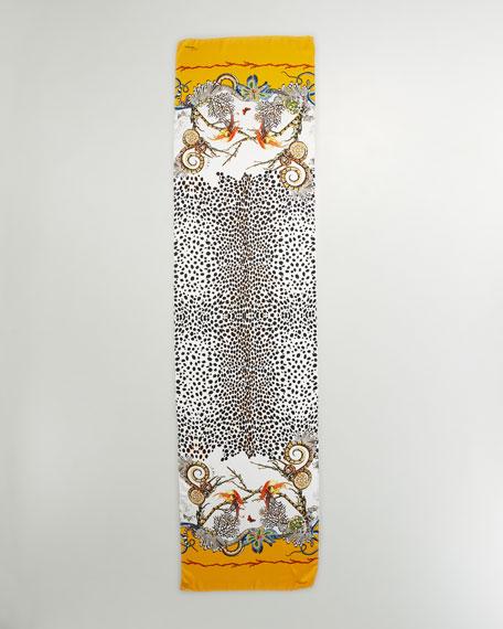 Hera Printed Silk Scarf