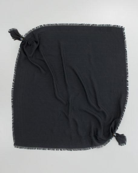Sirenis Triangle Scarf, Black