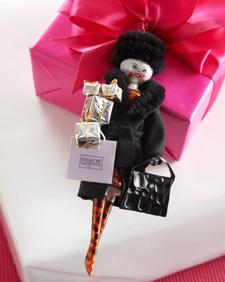 BG Shopper Christmas Ornament