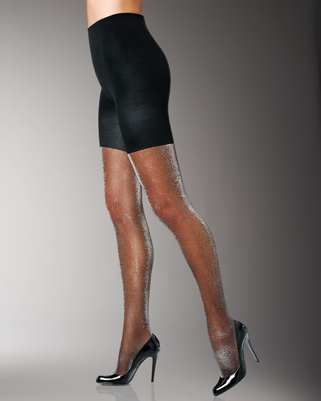Tight-End Tights, Metallic Luxe