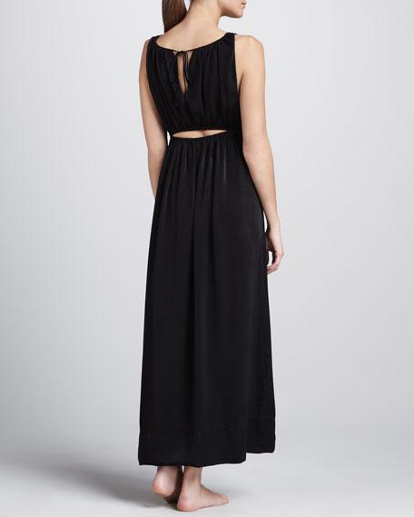 Silky Matte Satin Gown