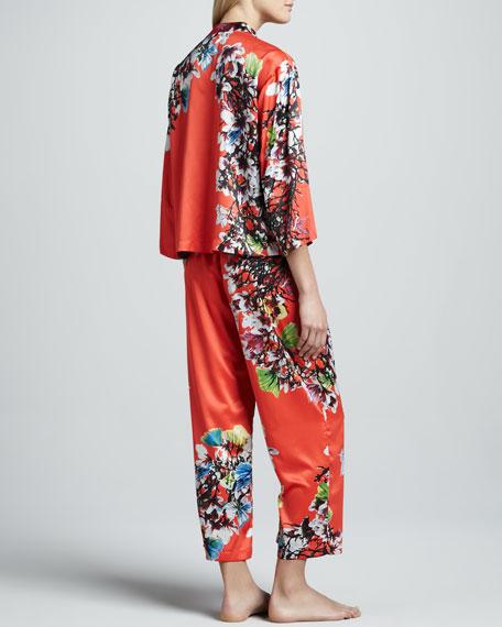 Erdene Floral-Print Pajamas