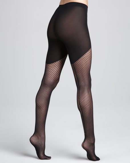 Neptune Diamond-Lace Tights