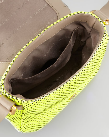Werdie Wavy Isabelle Crossbody Bag, Bright Yellow