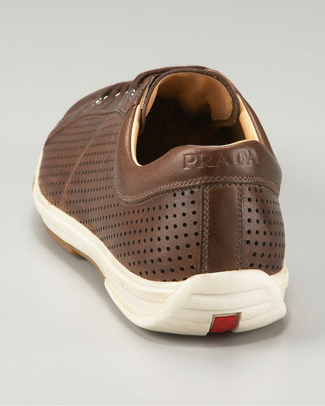 Perforated Vintage Calf Sneaker