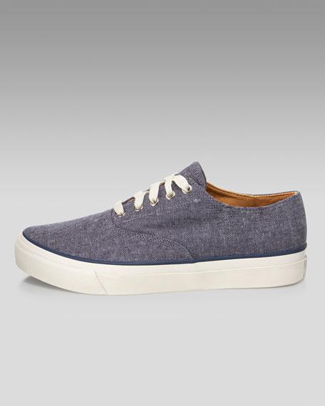 Linen Sneaker, Navy