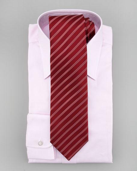 Textured Dress Shirt, Light Pink