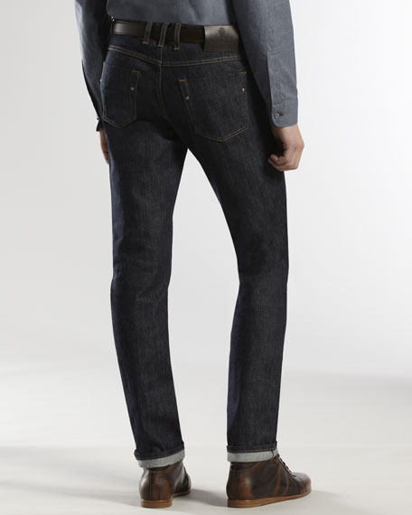 Five-Pocket Regular-Leg Jeans
