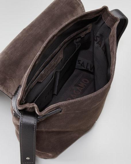 Ascot Suede Messenger Bag