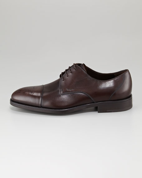 Aramix Medallion-Toe Oxford