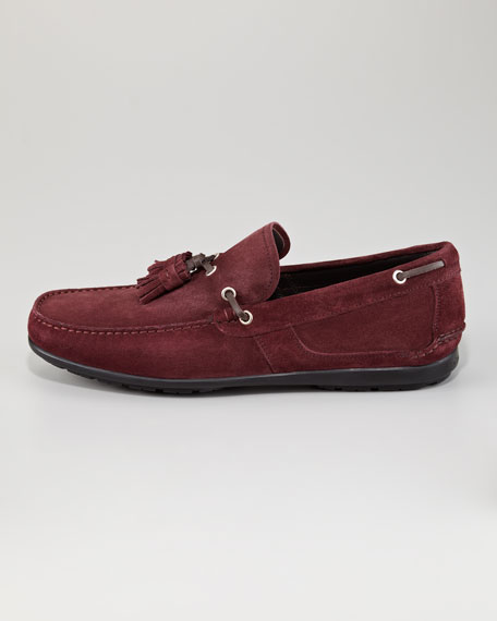 Amos 3 Suede Tassel Loafer