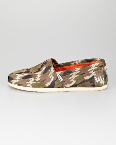 Men's Camouflage Slip-On