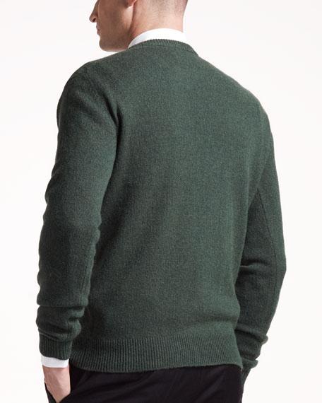 Whale-Print Sweater