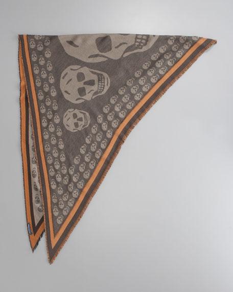 Triangle Skull Scarf