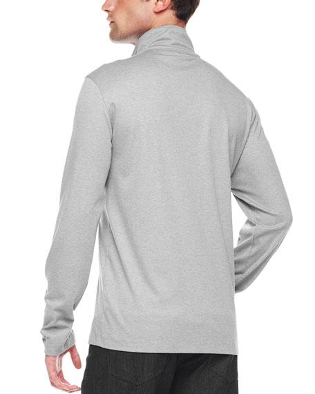 Half-Zip Slub Shirt