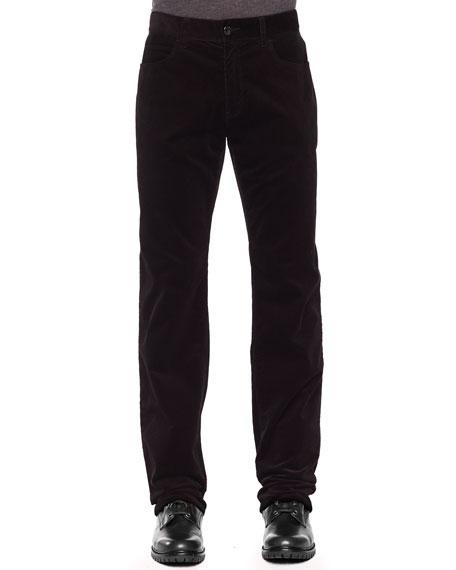 Stretch-Corduroy Pants