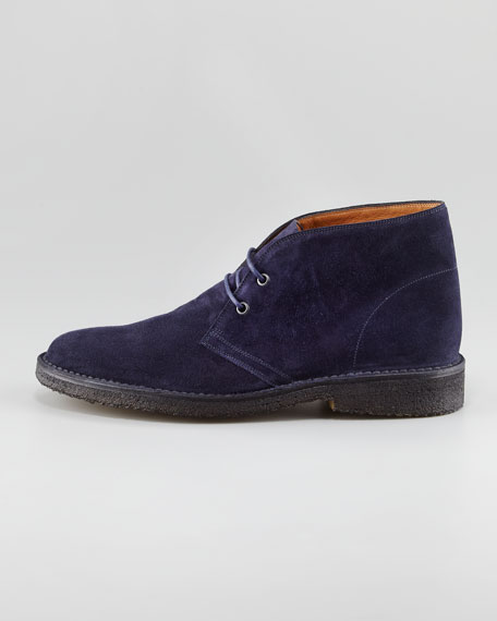 Kelby Suede Chukka Boot, Navy