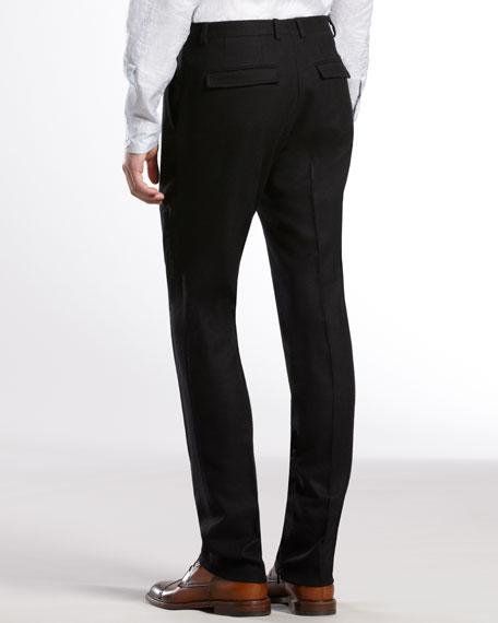 Flannel Weave 60s Skinny Pants
