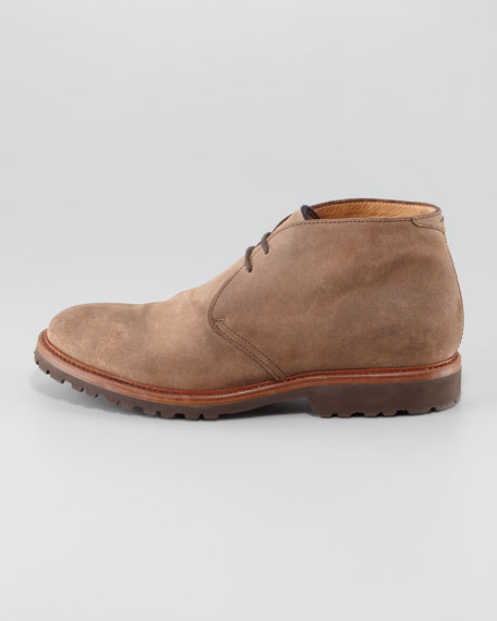 Aged Leather Chukka