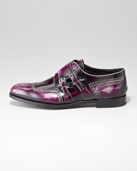 BG 111th Anniversary Monk-Strap Shoe