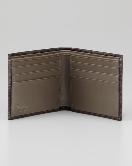 Revival Stamped Leather Bi-Fold Wallet
