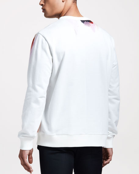 Columbian Madonna-Print Sweatshirt