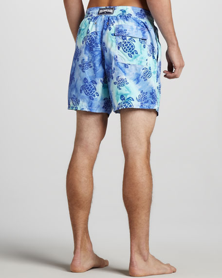 Moorea Tie-Dye Turtle Swim Trunks