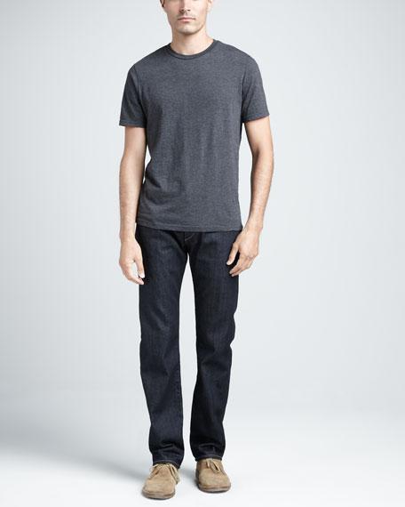 Dark-Rinse Selvedge Jeans