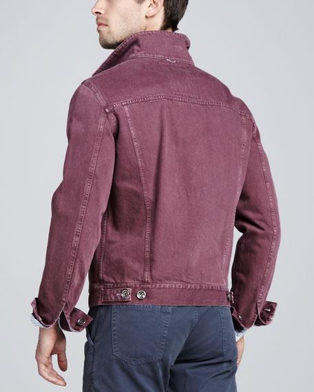 Denim Jacket, Cherry
