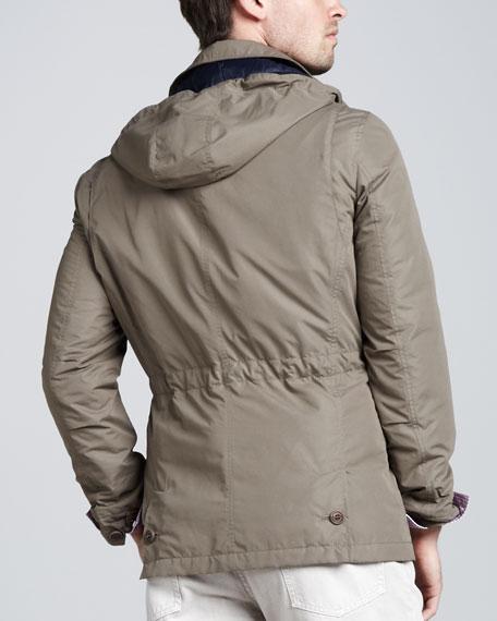 Short Safari Rain Coat