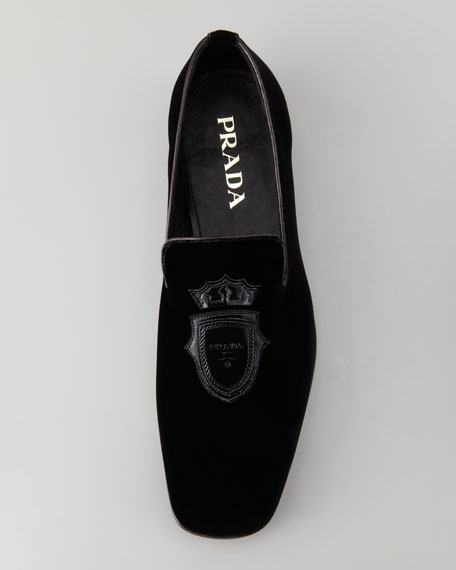 Velvet Evening Loafer, Black