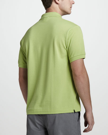 Classic Pique Polo, Willow Green