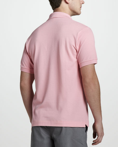 Classic Pique Polo, Candy Pink