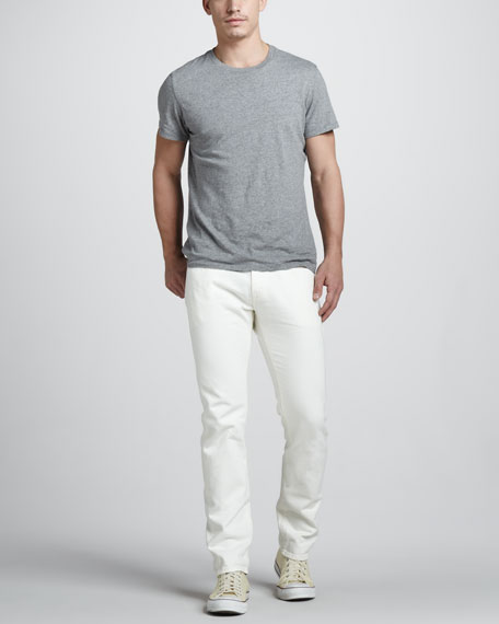 Tack Slim White Selvedge Jeans