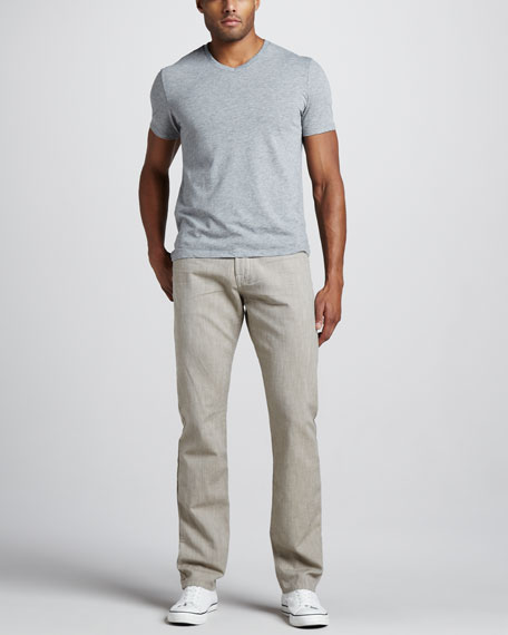The Straight Twill Pants, Coconut