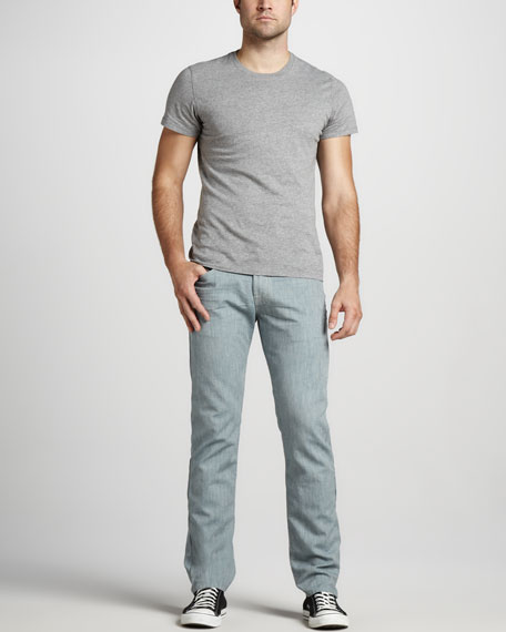The Straight Weft Jeans, Leaf