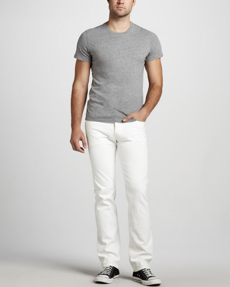 Slimmy Clean White Jeans