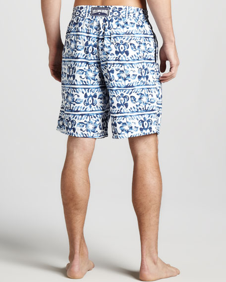 Okoa Striped Turtle Boardshorts