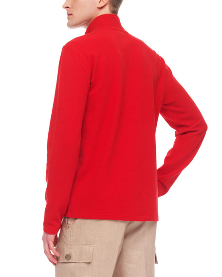 Half-Zip Knit Sweater