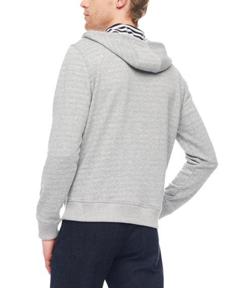 Stripe-Lined Hoodie