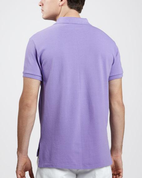 Custom-Fit Polo, Hampton Purple
