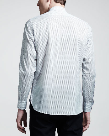 Dot-Print Sport Shirt