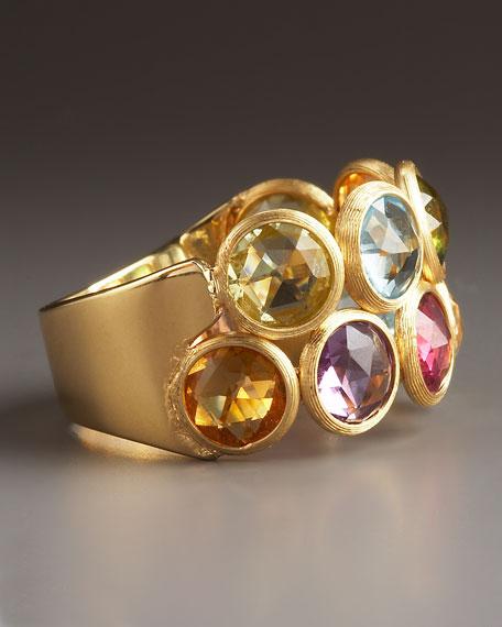Mixed-Stone Ring