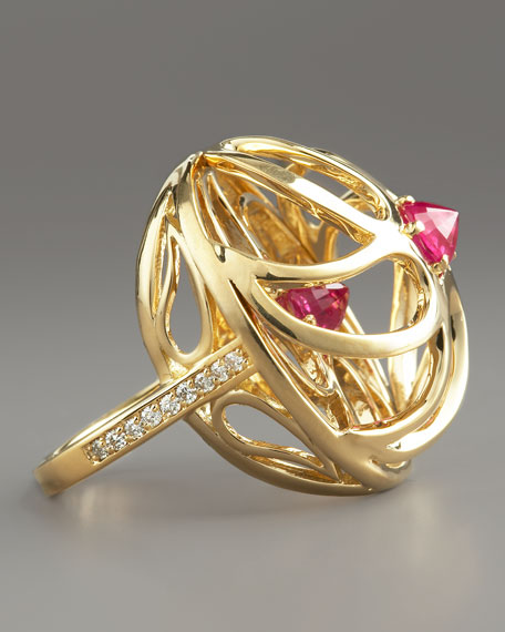 Contarini Ruby & Diamond Ring