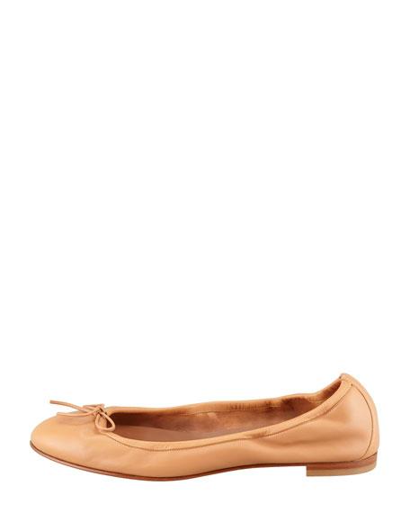 Tobaly Ballerina Flat, Camel