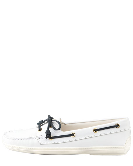 Marlin Barca Slip-On, White