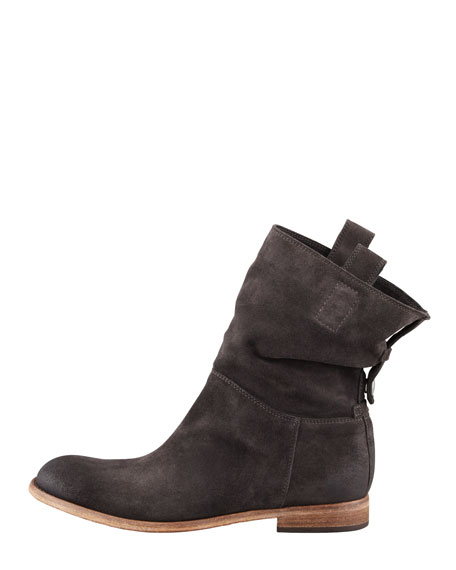 Umbria Snap-Back Ankle Boot, Anthracite